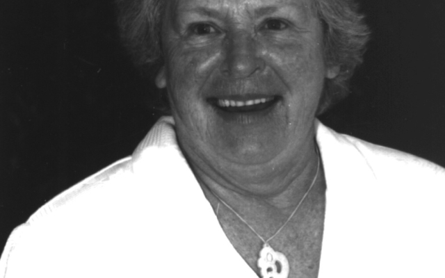 Hilary Mc Cormack first Deaf chairperson 1992
